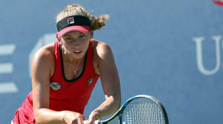 Elise Mertens, Elise Mertens news, Elise Mertens updates, Hobart International final, sports news, tennis, Indian Express