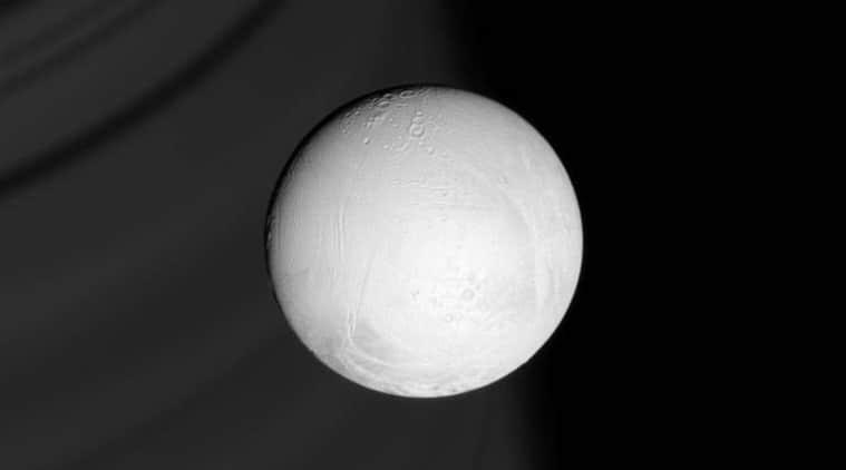 World Economic Forum 2018, habitable planets, Cassini WEF 2018, Saturn moon Enceladus, Saturn Cassini probe, Postcards from Saturn WEF, Linda Spilker NASA, geologically active moon, gas giants