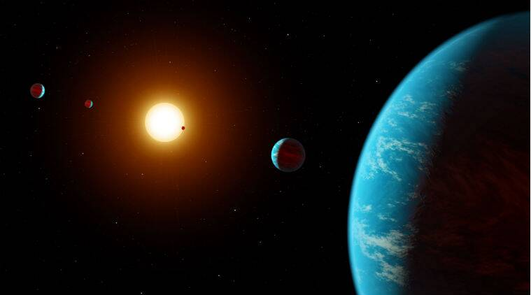 exoplanets, new exoplanets, exoplanets discovered, five new exoplanets, NASA, NASA kepler telescope, Earth, exoplanets size