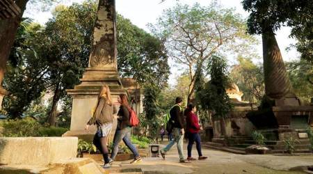Park Street cemetery in Kolkata, A Suitable Boy, hindoo stuart, park street kolkata, cemetary, indian express, indian express news