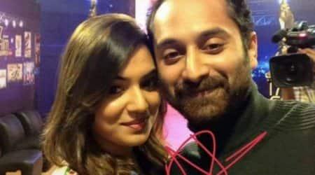 Nazriya Nasim and husband Fahadh Faasil in Anwar Rasheed'sTrance?