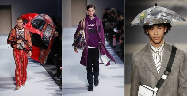 Milan Fashion week, Giorgio Armani, Giorgio Armani men's Fall-Winter 2018-19 collection, DSquared 2, sunnei, sartorial monk