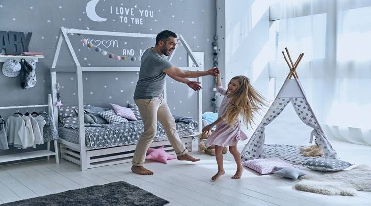 decorate child's space, child room, child room designs, child room paint, indian express, indian express news