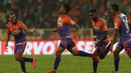 ISL 2017/18: FC Pune City blank ATK 3-0 to stay in race for top-foursport