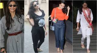 Celeb spotting: From Shraddha and Sonam at the airport to Alia, Sara and Janhvi going about their business