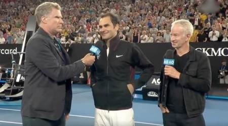 VIDEO: Roger Federer faces some REALLY TOUGH questions from Will Ferrell