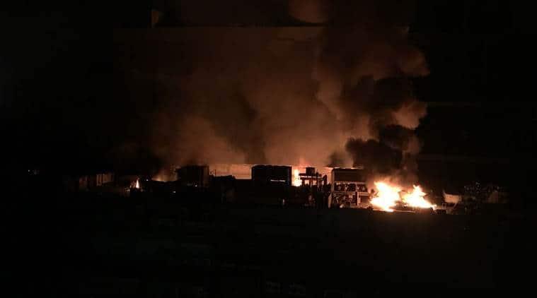 Mumbai fire LIVE UPDATES, cinevista studio, fire in mumbai