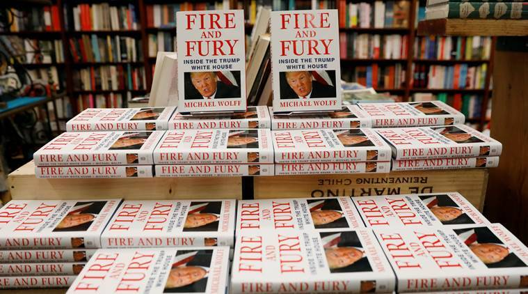 Michael Wolff's Fire and Fury book on Donald Trump