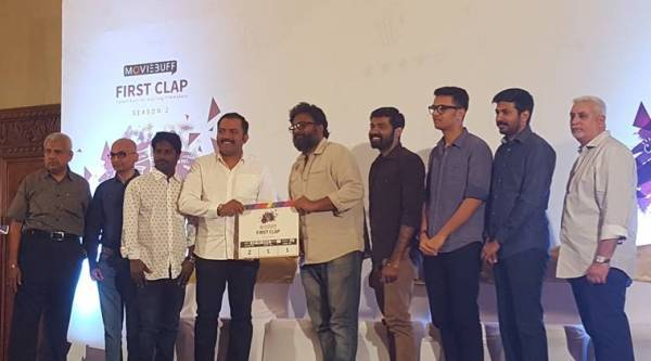 The dignitaries at the first clap launch.