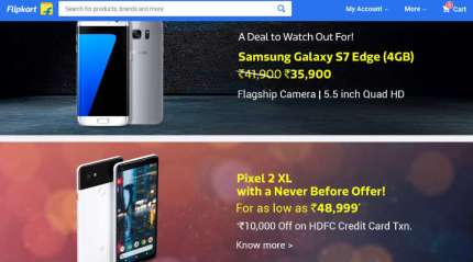Flipkart Republic Day sale starts midnight: Top deals on Pixel 2, Redmi Note 4, and more mobiles