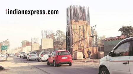bhubaneswar, flyover collapse, odisha pwd, flyover contractor, indian express