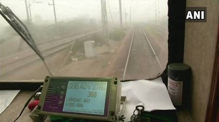fog safety device in North Indian trains