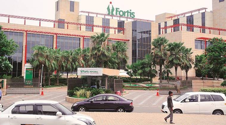 Fortis shares up 4%, m-cap rises by Rs 293 crore