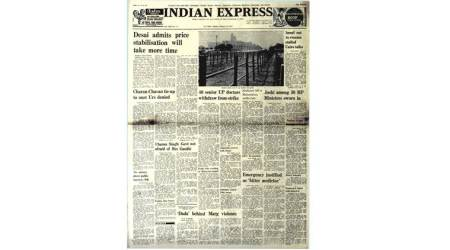 January 23, 1978, Forty Years Ago: Indira OnEmergency