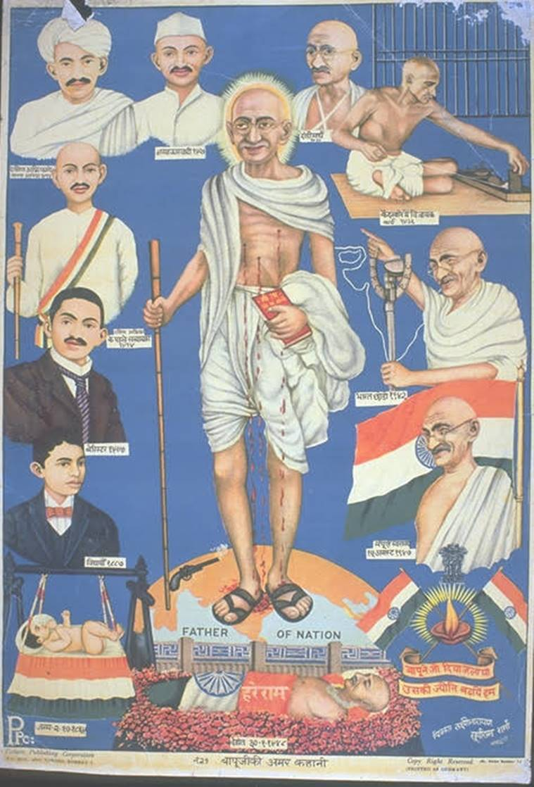 Mahatma Gandhi, Gandhi, Gandhi death anniversary, January 30, 70th death anniversary of Gandhi, Nathuram Godse, Gandhi news, India news, Indian Express