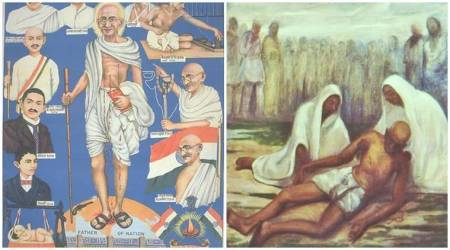 Mahatma Gandhi's assassination as art: The many shades of death