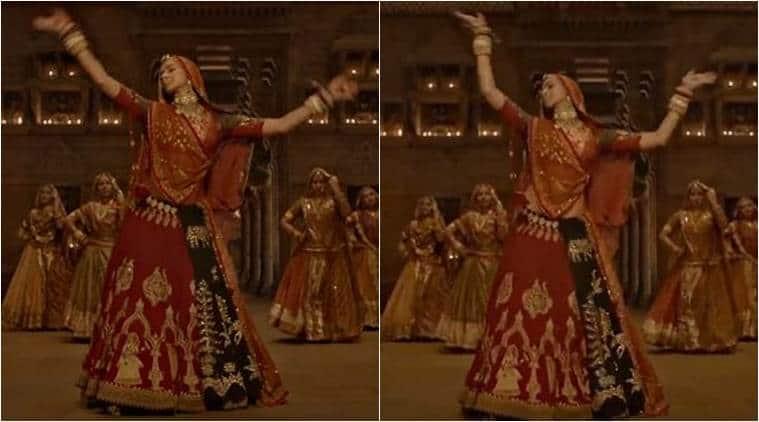 Deepika Padukone in Ghoomar