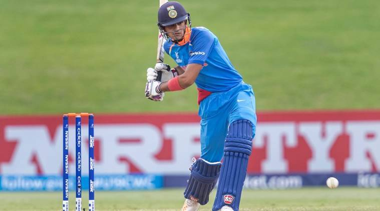 ICC U-19 World Cup 2018, Shubman Gill, CC U-19 World Cup 2018 news, ICC U-19 World Cup 2018 schedule, Prithvi Shaw, sports news, cricket, Indian Express