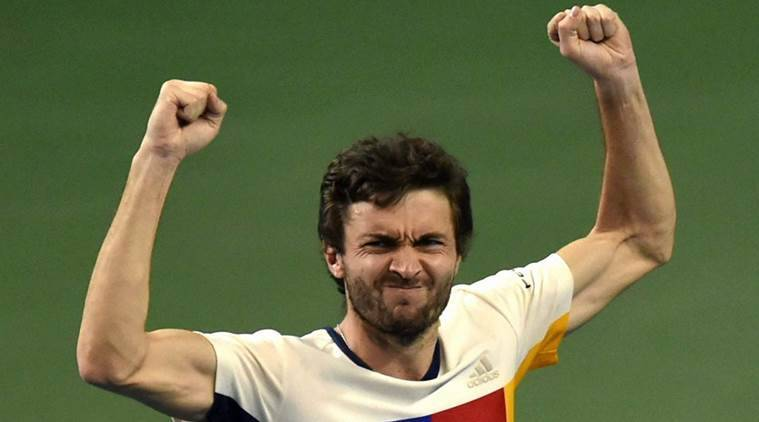 Gilles Simon, Gilles Simon news, Gilles Simon updates, Marin Cilic, Kevin Anderson, sports news, tennis, Indian Express