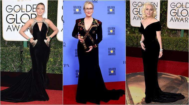 Hollywood Stars To Auction Their Golden Globes Black Dresses To