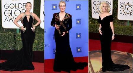 Hollywood stars to auction their Golden Globes black dresses to raise funds for #TimesUp