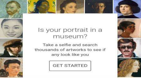 Google Arts and Culture app selfie feature, computer vision technology, Arts and Culture app India, art exhibitions, image database, museum partners, art collection