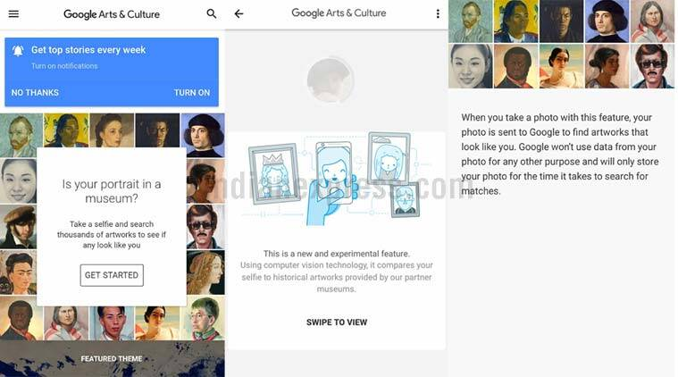 Google App Finds Your Fine Art Lookalike