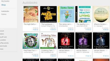Google audiobooks launched on Play Store in India: Now ask Google to read out yourbooks