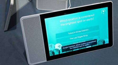 Google Assistant coming to smart speakers with touchscreens, to take on Amazon Echo Show