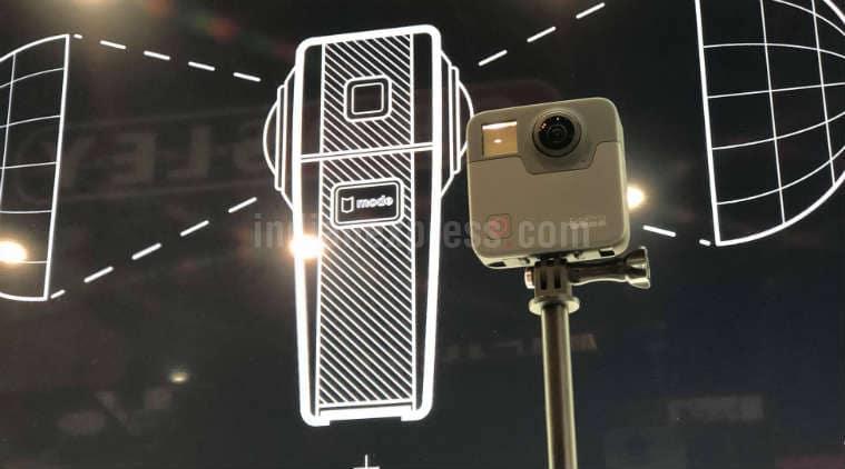 GoPro, GoPro Cameras, GoPro Fusion, CES 2018, Consumer Electronics Show, CES GoPro, GoPro Fusion camera