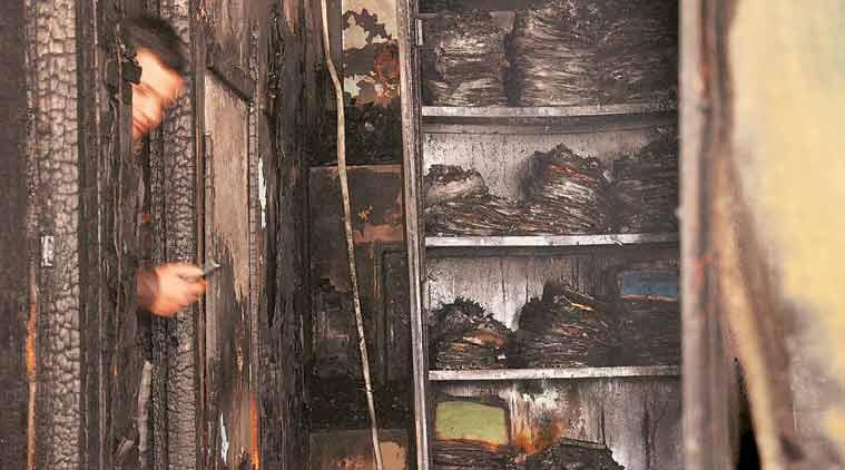 BRD Hospital fire: Principal files police complaint