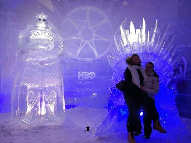 game of thrones, game of thrones hotel, got season 8, got season 8 hotel, snow village, finland snow village, got inspired hotel, got news, travel news, indian express