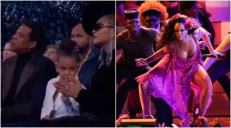 Sassy Blue Ivy to Rihanna's killer dance moves, the funniest memes from Grammy Awards2018