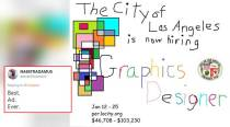 Twitterati cannot get enough of this job ad for a graphic designer