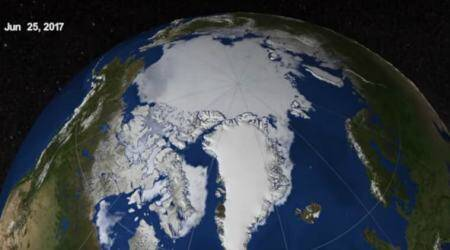 Greenland ice caps, Earth heat loss, Aarhus University, Greenland fjords, glaciers, isolated basin, seismic activity, ice caps, Earth's interior effects, water rise