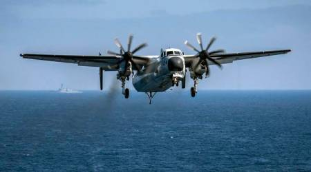 US Navy locates crashed plane deep on Pacificseabed