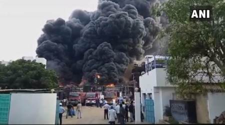 Gujarat: Fire breaks out at chemical plant near Vadodara