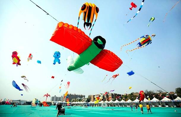International Kite Festival, International Kite Festival Gujarat, Gujarat Kite Festival, Kite Festival, Kite Festival pictures, indian express, indian express news