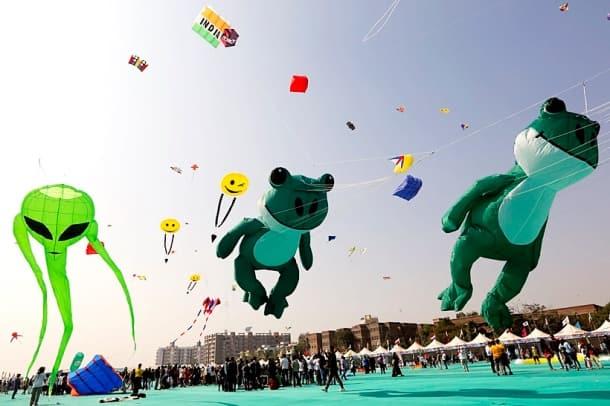 International Kite Festival, International Kite Festival Gujarat, Gujarat Kite Festival, Kite Festival, Kite Festival pictures, indian express, indian express news