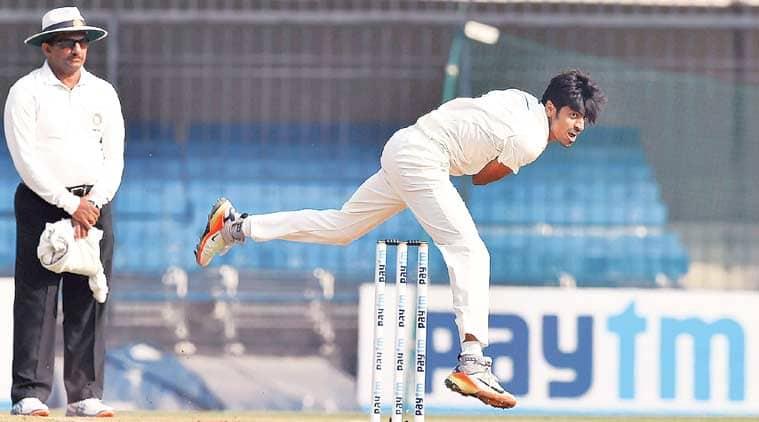 rajneesh gurbani, Ranji Trophy 2017, ranji trophy, delhi vs vidarbha, vidarbha wins ranji final, rajneesh gurbani bowling, cricket news