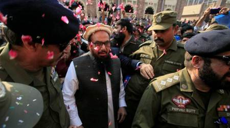 Hafiz Saeed moves Pakistan court against withdrawal of hissecurity