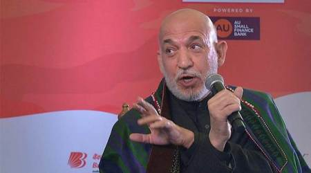 Jaipur Literature Festival: Hope to see Donald Trump walk the talk on Pakistan, says Hamid Karzai