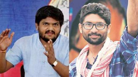 Gujarat: Hardik Patel-Jignesh Mevani camaraderie in land dispute test