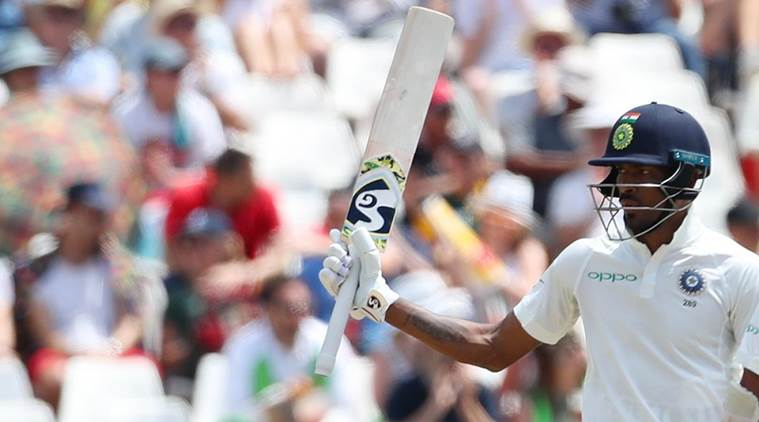 India are playing the 1st Test in Cape Town.