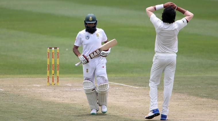 India vs South Africa, Ind vs SA, Hashim Amla, Hashim Amla runs, Hashim Amla batting, Hashim Amla South Africa, sports news, cricket, Indian Express