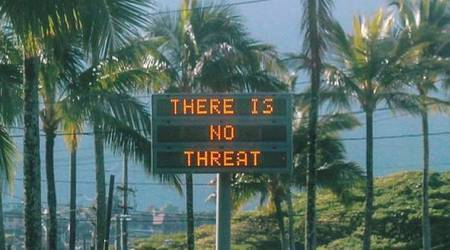 Ballistic missile warning sent in error by Hawaii authorities