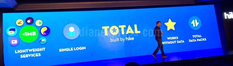 Hike Total, What is Hike Total, Hike Total feature, Hike use without Internet, Total internet data free feature, Hike Internet free feature, Kavin Mittal