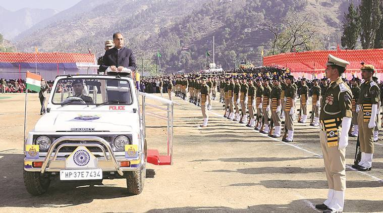 Jai Ram Thakur, Himachal Pradesh, Himachal CM, Republic Day, Republic Day 2018, Indian Express