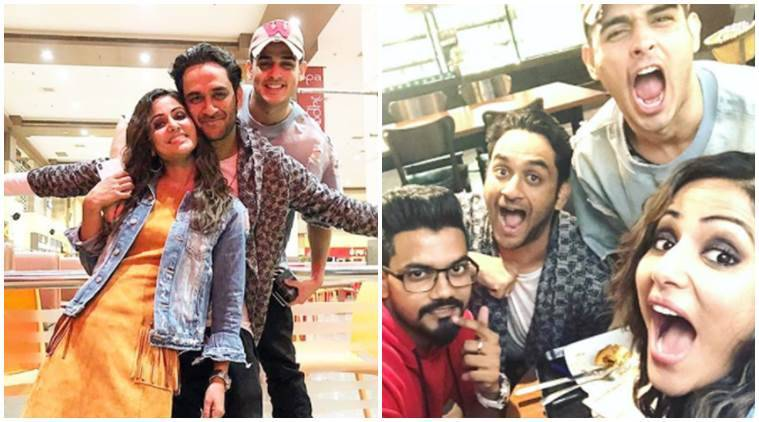 Bigg Boss 11 Contestants Hina Khan Priyank Sharma And Vikas Gupta S