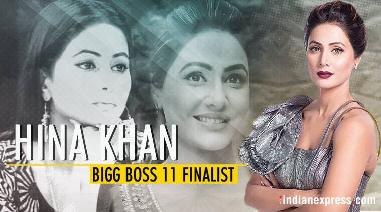hina khan is the finalist of bigg boss 11
